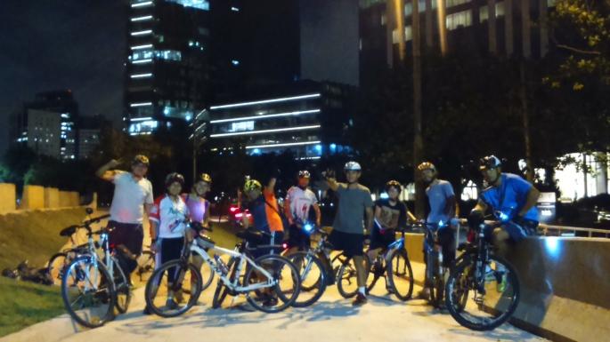 Bike Zona Sul Pedal Noturno