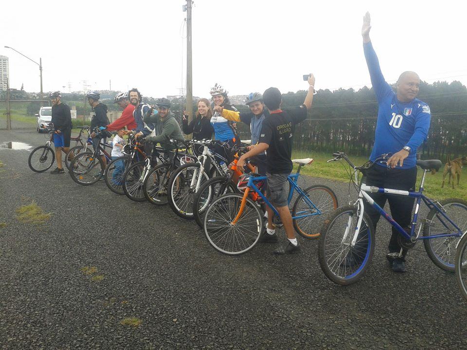 Pedal abraço da Guarapiranga – 31/5/2015