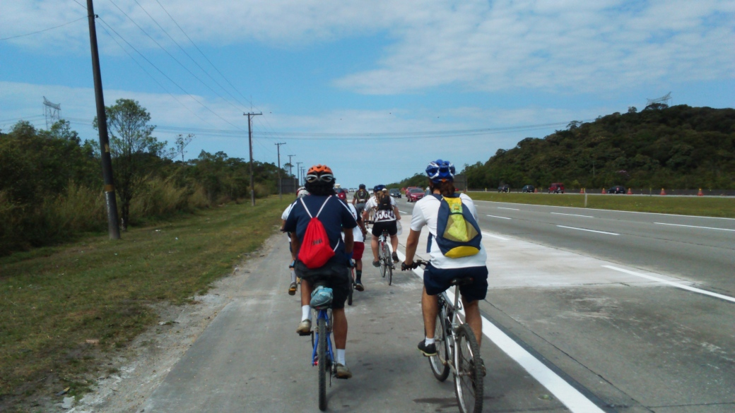 Acostamento Imigrantes Bike Zona Sul