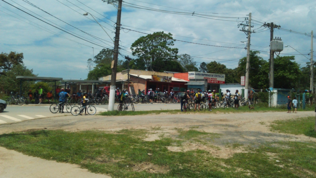Bar da bifurcação Bike Zona Sul