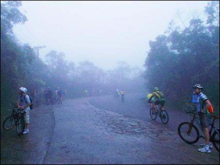 Entrada da Estrada de Manutenção Bike Zona Sul