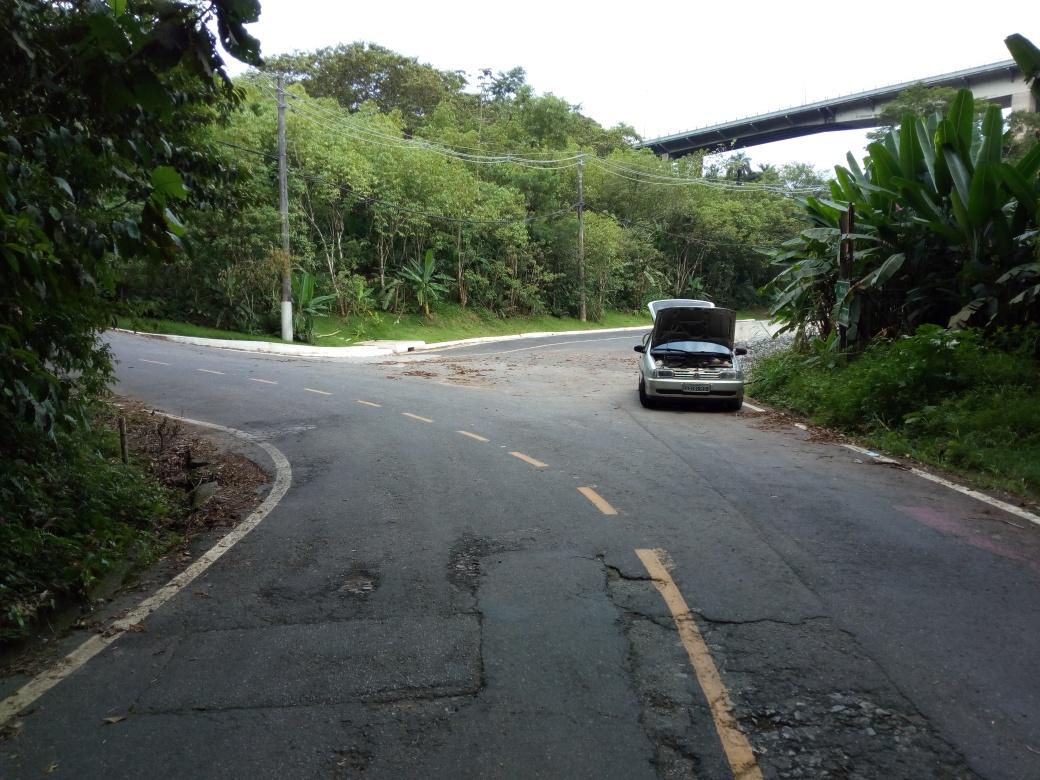 Saída da Balança Bike Zona Sul