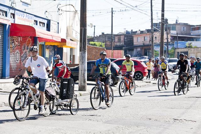 Bike Zona Sul Rota Arte Urbana Ambiental - Foto: André Bueno / Virada Sustentável