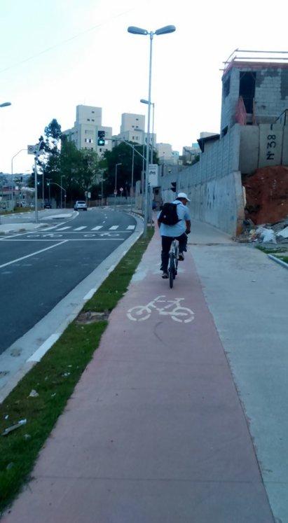 Av. Luiz Gushiken Bike Zona Sul