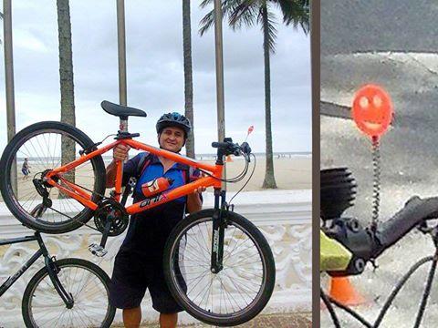 Wilson Magalhães Sorrisinho Bike Zona Sul