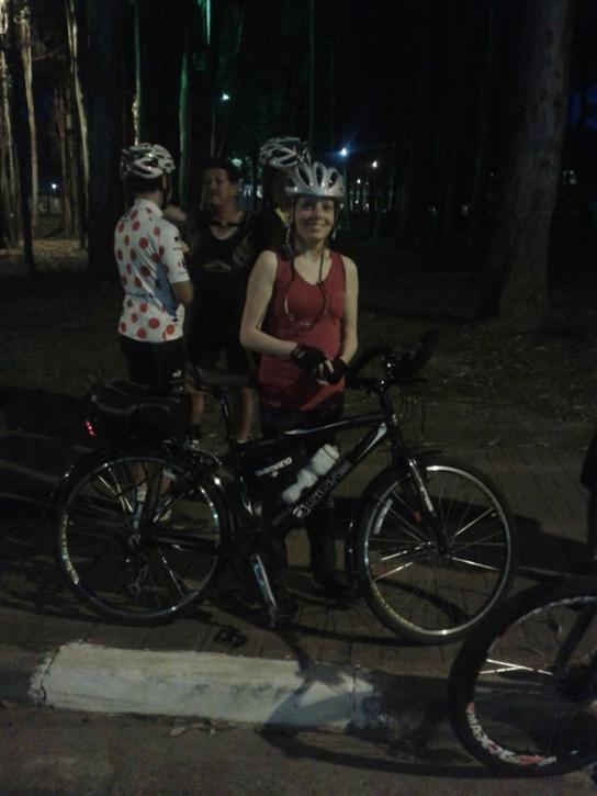 Talita Merino Bike Zona Sul