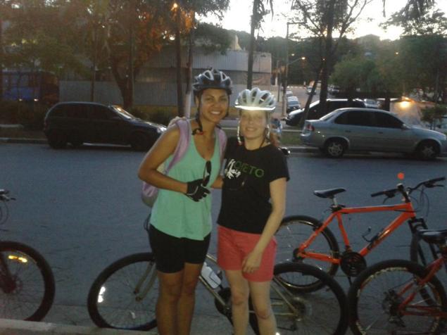 Karina Flores Talita Merino Bike Zona Sul