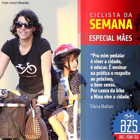 Silvia Ballan Nina Bike Zona Sul