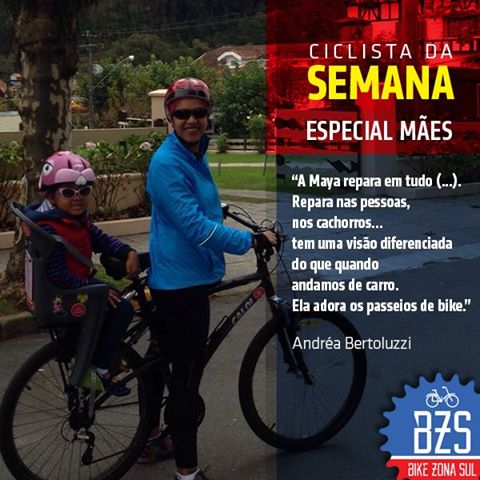 Andréa Bertoluzzi Bike Zona Sul