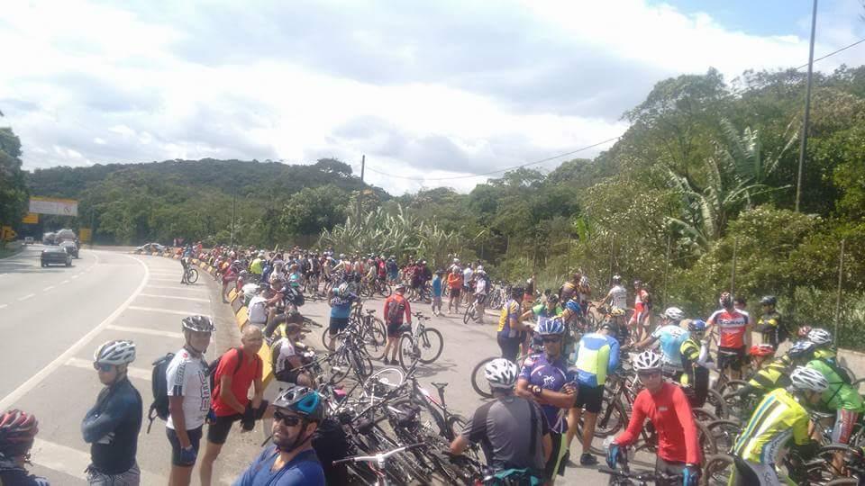 Descida à Santos Bike Zona Sul
