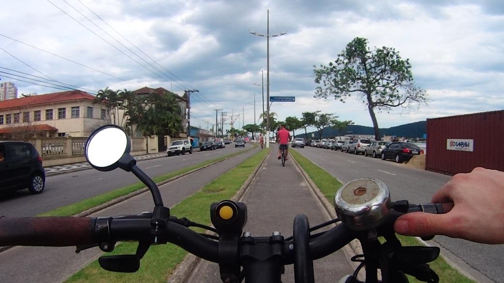 Ciclovias Santos Bike Zona Sul
