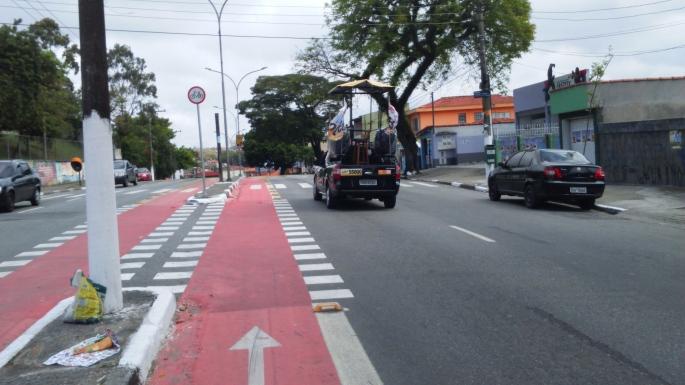 Ciclovia da Lourenço Cabreira Bike Zona Sul