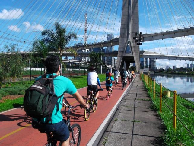 Ciclovia Rio Pinheiros Bike Zona Sul