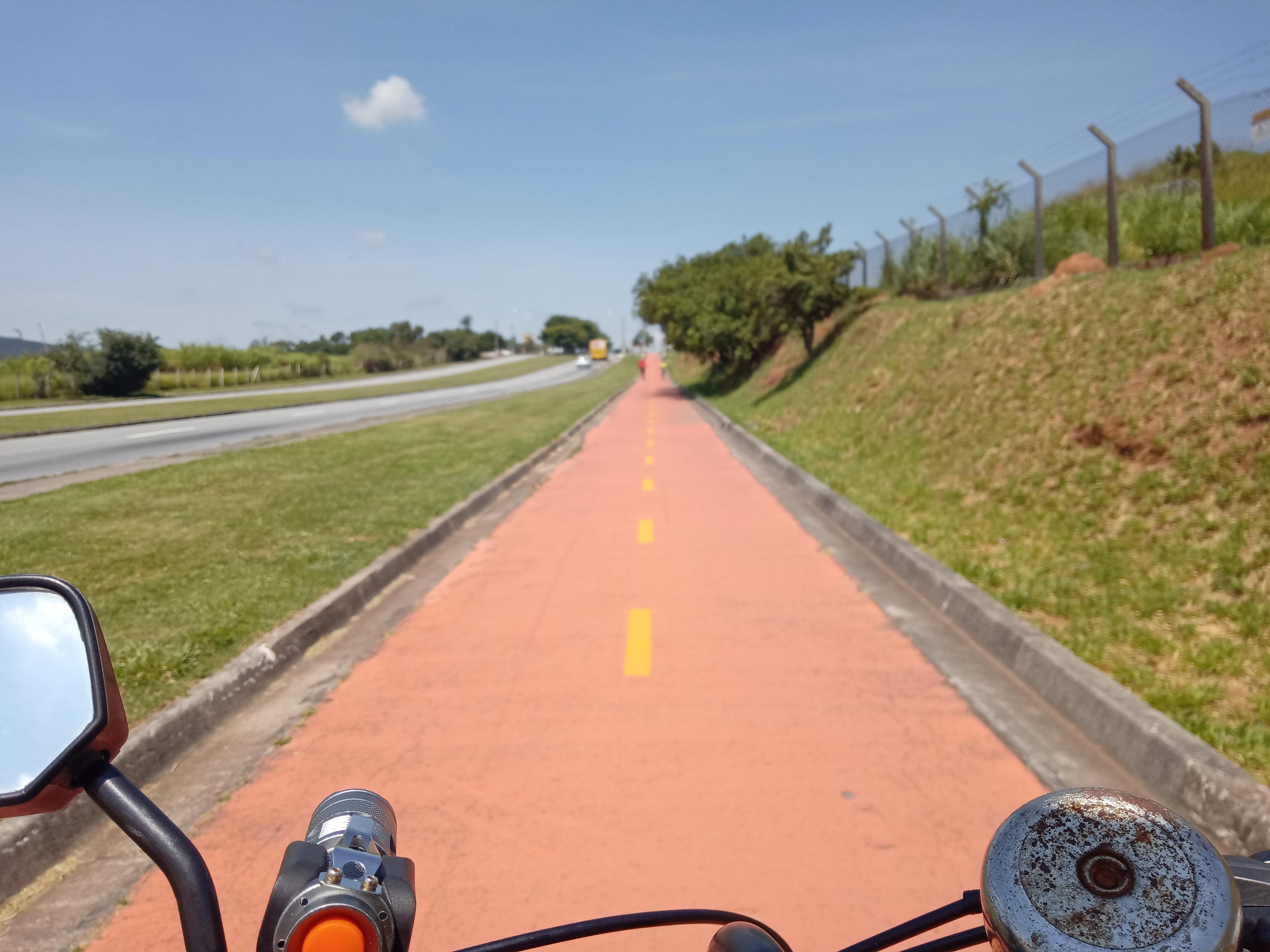 Ciclovia da Av. Antônio Pincinato, Jundiaí - SP Bike Zona Sul