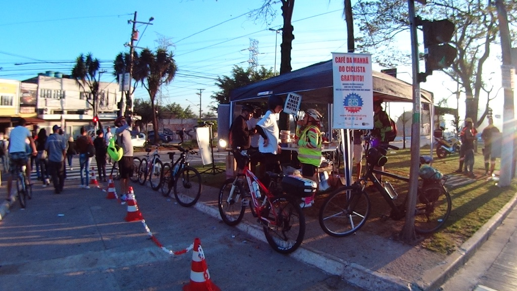 Café da Manhã do Ciclista Socorro Bike Zona Sul